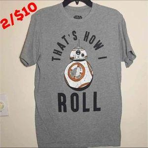 Star Wars T-Shirt Gray M